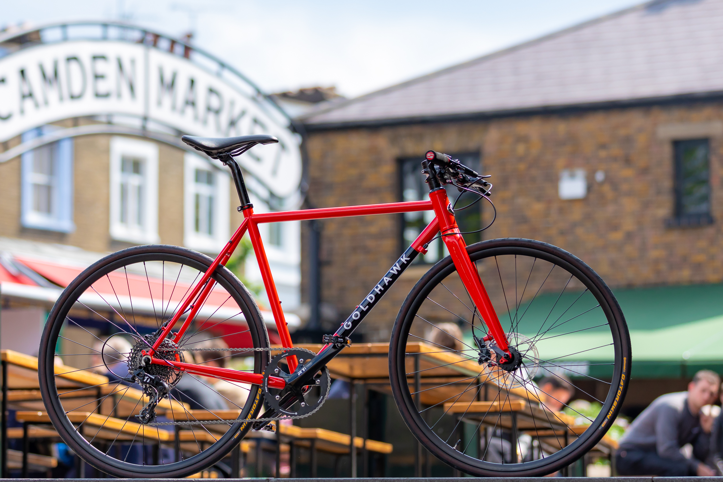 The ultimate flat bar urban bike. Custom Steel Frame designed and built in the UK