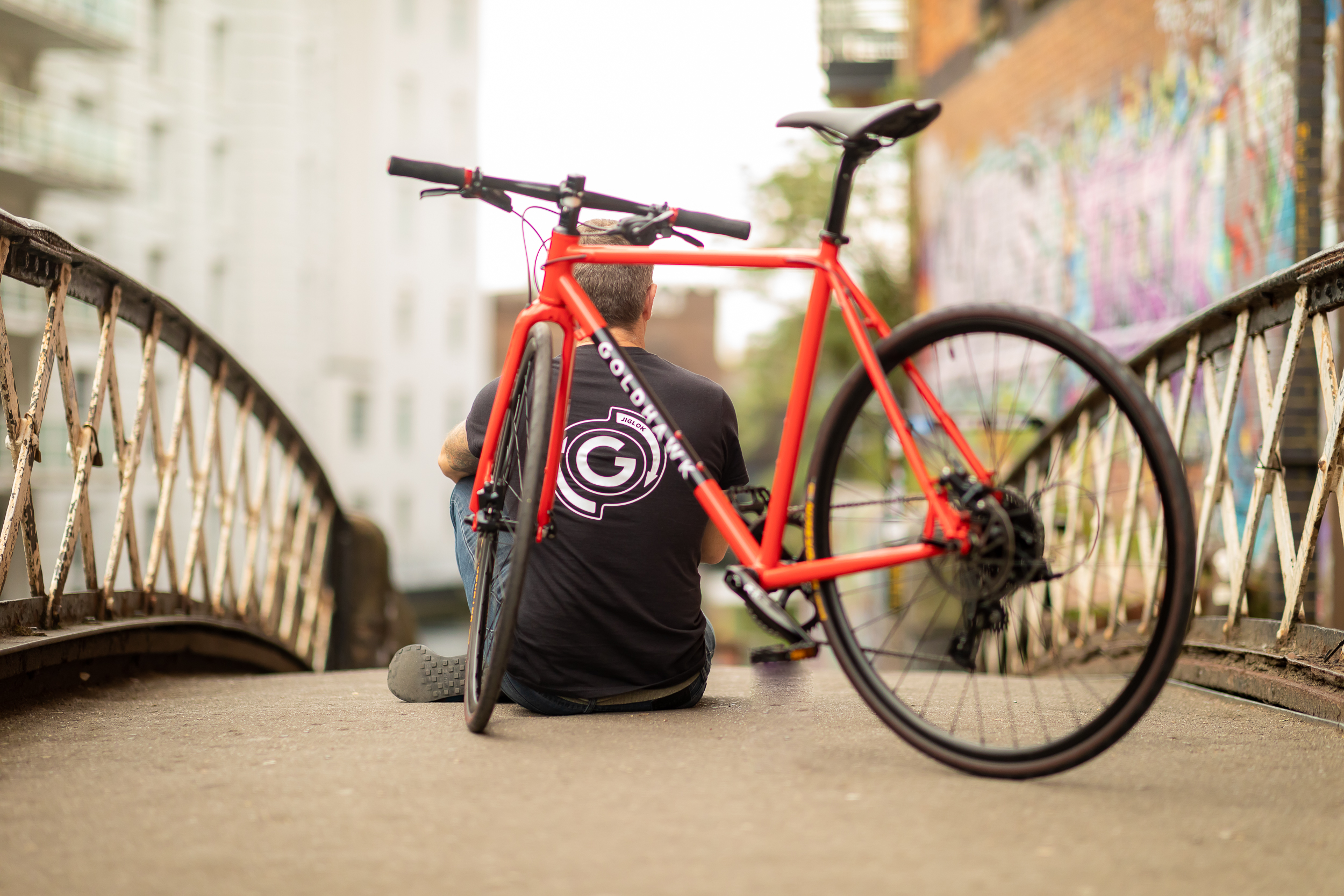 Featuring a hand made steel frame. The ideal urban bike, commuter bike or gravel bike